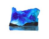 Oregon State Watercolor