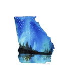 Georgia State Watercolor