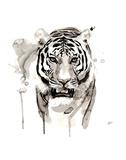 Tigre Reproduction d'art par Philippe Debongnie
