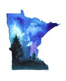 Minnesota State Watercolor