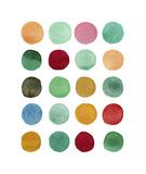 Series Colored Dots No I