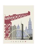 Glasgow Skyline Poster
