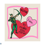 DC Comics Art - Vintage Valentine