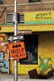 Batman Comics Graffiti Art Featuring Joker