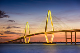Charleston  South Carolina  USA at Arthur Ravenel Jr Bridge