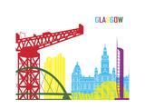 Glasgow Skyline Pop