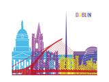 Dublin Skyline Pop