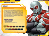 Guardians of The Galaxy Profile Featuring Drax