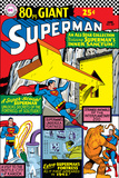 DC Comics Cover Featuring Superman