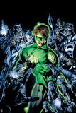 Justice League Comics Art Featuring Green Lantern
