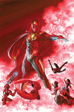 All-New  All-Different Avengers No 6 Cover Featuring Vision  Iron Man  Falcon Cap and More