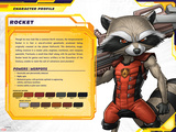 Guardians of The Galaxy Profile Featuring Rocket Raccoon