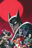 Batman Comics Art with Multiple Characters - Group Image