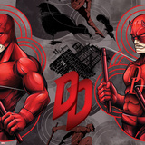 Marvel Knights - Daredevil Pattern Design