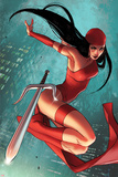 Daredevil No 5 Cover Featuring Elektra