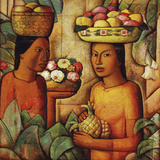 Mujeres con Frutas (Women with Fruit)