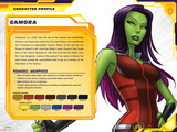 Guardians of The Galaxy Profile Featuring Gamora