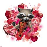 Guardians of The Galaxy Art Featuring Rocket Raccoon