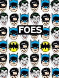 DC Comics Quotes & Word Art with Pattern