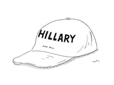 Hillary and Bill Hat - Cartoon