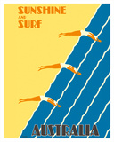 Australia - Sunshine and Surf - 3 Women Diving
