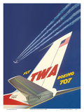Boeing 707 - Fly TWA (Trans World Airlines)