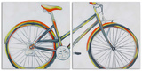 Bicycle Diptych (Set/2)