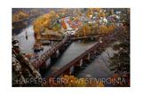 Harpers Ferry  West Virginia - Birds Eye View