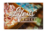 Rehoboth Beach  Delaware - Life is Sweet - Rows of Candy