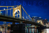 Pittsburgh  Pennsylvania - Roberto Clemente Bridge