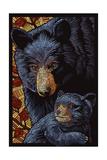 Black Bears - Paper Mosaic