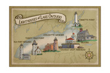 Lighthouses of Lake Ontario