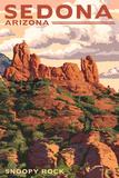 Sedona  Arizona - Snoopy Rock