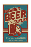 Asheville  North Carolina - Certified Beer Tester