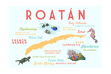 Roatan - Typography and Icons