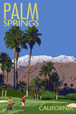 Palm Springs  California - Golfing Scene