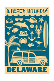 Delaware - Coastal Icons