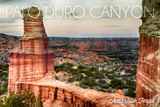 Amarillo  Texas - Palo Duro Canyon - Lighthouse