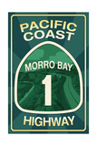 Highway 1  California - Morro Bay - Pacific Coast Highway Sign