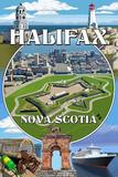 Halifax  Nova Scotia - Montage
