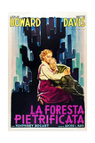 The Petrified Forest - (1) Vintage Movie Poster