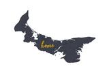 Prince Edward Island - Home - Gray on White