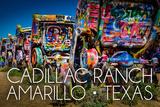 Amarillo  Texas - Cadillac Ranch