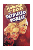 The Petrified Forest - (3) Vintage Movie Poster