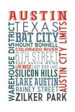 Austin  Texas - Typography