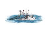 Shrimp Boat - Icon