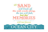 Ocean City  Maryland - Beach Memories Last Forever