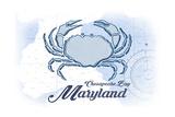 Chesapeake Bay  Maryland - Crab - Blue - Coastal Icon