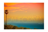 Malibu  California - Sunset and Birds