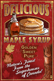 Canada - Vintage Maple Syrup Sign